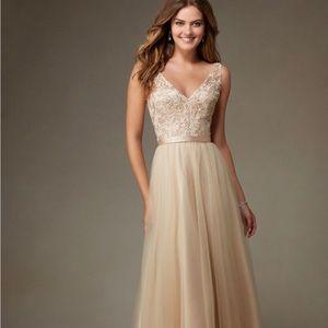 Morilee by Madeline Gardner Tulle Bridesmaid Dress